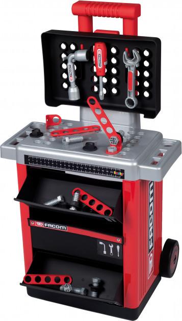 Ігровий набір Smoby Toys Факом Пересувна майстерня з аксесуарами в боксі 360218