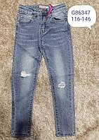 Джинсовые брюки для девочек Grace, 116-146 pp. Артикул: G86347 , фото 1