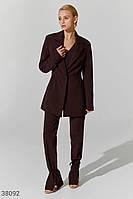 Расклешенные брюки шоколадного оттенка XS,S,M,L