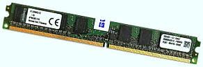 Оперативная память Kingston Low Profile DDR2 1Gb 800MHz PC2 6400U 1R8 CL6 (KFJ2890C6/1G) Б/У