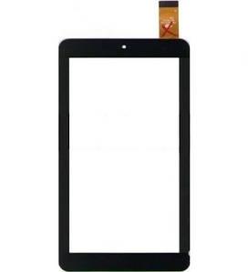 """Сенсор (Тачскрин) для планшета 7"""" Texet TM-7056 (184x104 мм,30 pin) без выреза под динамик (Черный-Самоклейка)"""