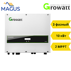 Сетевой инвертор Growatt 10000 TL3 S (10 кВт 3 фазы 2 MPPT + Shine WiFi)