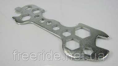 Ключ велосипедний вдосконалений (сімейний) Китай KL-9700A, фото 2