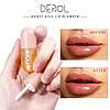 Увлажняющий блеск для губ DEROL с эффектом пухлости