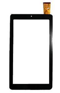 """Оригинальный Сенсор (Тачскрин) для планшета 7"""" Texet X-Pad Sky 7.2 (TM-7089) 30pin (184x104mm) (Черный)"""