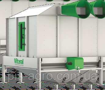 Охолоджувач гранульованого продукту