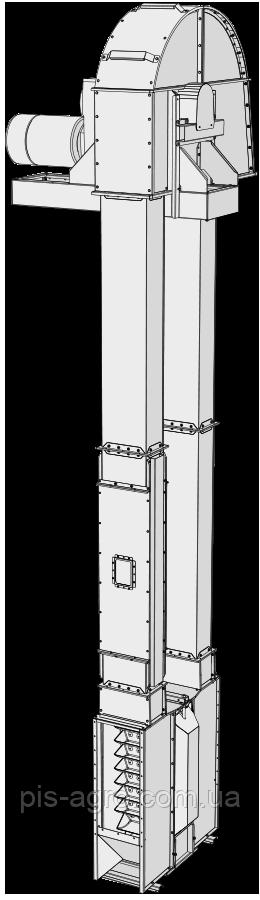 Ковшовая нория SEI 50/18 - Skandia Elevator I-Line