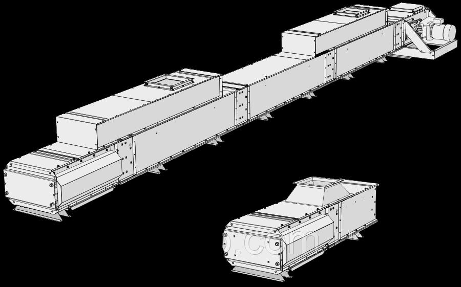 Нижние конвейеры KTHb - Skandia Elevator H-Line