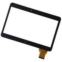 """Оригинальный Сенсор (Тачскрин) для планшета 10.1"""" TeXet TM-1046 3G (240x162 мм, 50 pin) (Черный-Самоклейка)"""