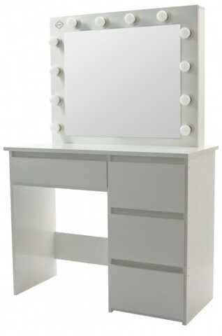 Столик косметичний Bonro - білий (B071)