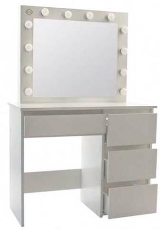 Столик косметичний Bonro - білий (B071), фото 2