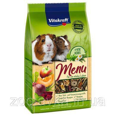 VITAKRAFT Menu Vital Витакрафт корм для морских свинок 1 кг