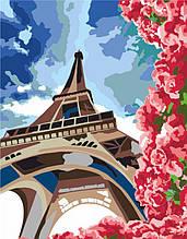 "Набор, техника акриловая живопись по номерам, ""Летний Париж"", ROSA START"