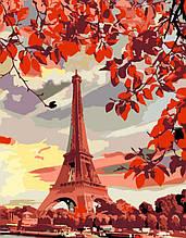 "Набор-стандарт, картина по номерам, ""Эйфелева башня"", 35х45см, ROSA START"