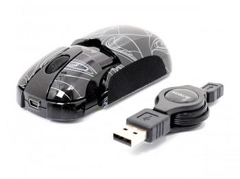 Миша A4-Tech K3-23E USB Black