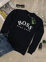 Темно синяя мужская кофта Hugo Boss оригинал