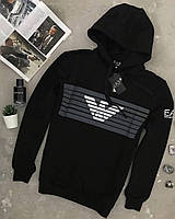 Черная мужская кофта Emporio Armani EA7 оригинал