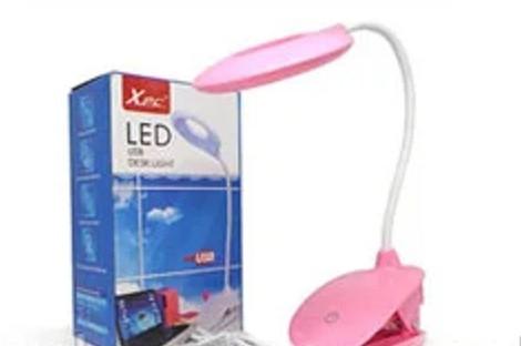 Лампа діодна настільна на прищіпці LAMP-T-6531