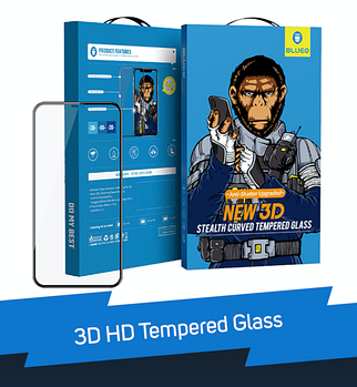 3D HD Tempered Glass