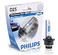 Ксеноновая лампа  Philips D2S Xenon BlueVision Ultra 85122BVUS1, фото 1
