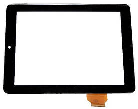 Оригинальный Сенсор (Тачскрин) для планшета Texet TM-8041 HD (Тип 1) (Черный)