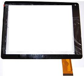Оригинальный сенсор (Тачскрин) для планшета Texet TM-9740 (Версия 2) (Черный)