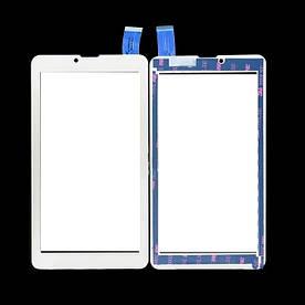 Оригинальный Сенсор (Tачскрин) для планшета TeXet NaviPad TМ-7049 3G (Белый)