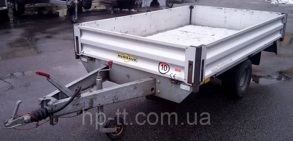 Аренда бортового прицепа со сьемно-откидными бортами Humbaur HU 132513 №10