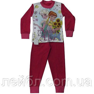 """Детская пижама для девочки """"Анна и Эльза"""""""