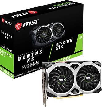 Видеокарта MSI GeForce GTX 1660 SUPER VENTUS XS OC 6 GB GDDR6