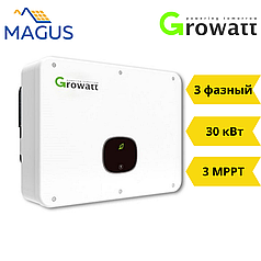 Сетевой инвертор Growatt MID 30000 TL3-X (30 кВт 3 фазы 2 MPPT)