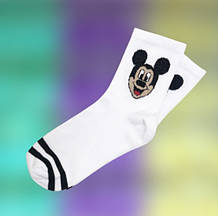 Шкарпетки з приколами демісезонні Neseli Coraplar Athletic 7363 Mickey Mouse Туреччина one size (37-44р) 20035662