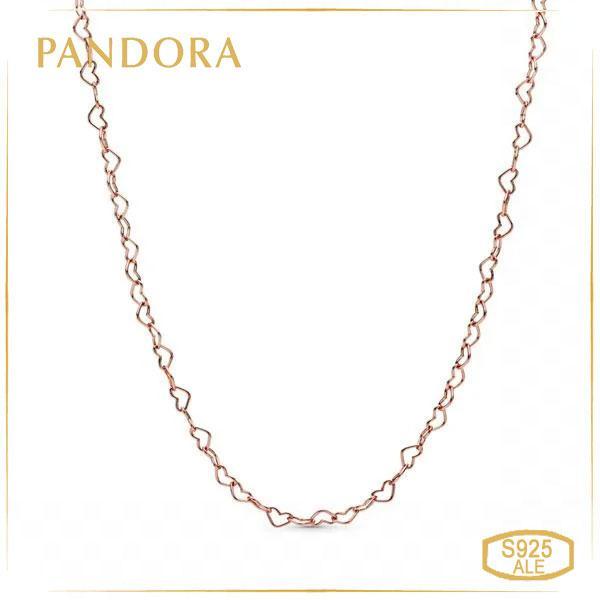 Пандора Колье Единение сердец Rose Pandora 387961-60
