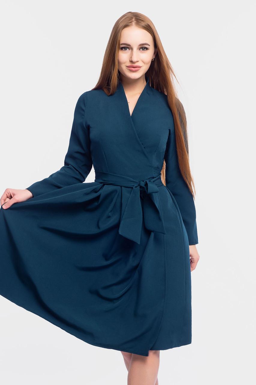 Ошатне вечірнє плаття Klara, темно-зелений