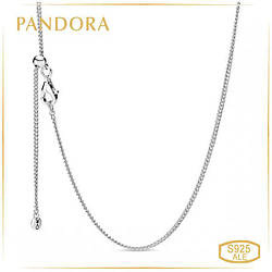 Пандора Цепочка панцирное плетение Pandora 398283