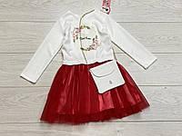 Нарядне плаття для дівчаток. 110 - 122 зростання.
