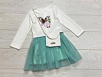 Нарядне плаття для дівчаток. 122 зростання.