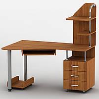 Компьютерный стол с полками Тиса Эксклюзив-7 (1350*900*1440Н)
