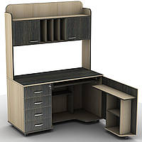 Компьютерный стол с надстройкой Тиса СУ-16 (1320*600/1450*1760Н)