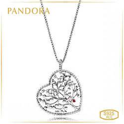 """Пандора Колье """"Древо любви"""" Pandora 396582ENMX-75"""