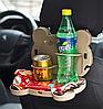 Складаний столик в машину для напоїв Ведмежа TV000894, фото 3