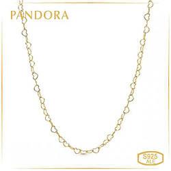 Пандора Колье Единение сердец Shine Pandora 367961-60