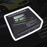 """Монитор для камеры заднего вида DS-5 Видеорегистратор Цветной автомобильный экран 5"""" с 2 видеовыходами, фото 5"""