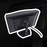 """Монитор для камеры заднего вида DS-5 Видеорегистратор Цветной автомобильный экран 5"""" с 2 видеовыходами, фото 6"""