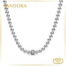 Пандора Колье Сферы Паве Pandora 398565C01