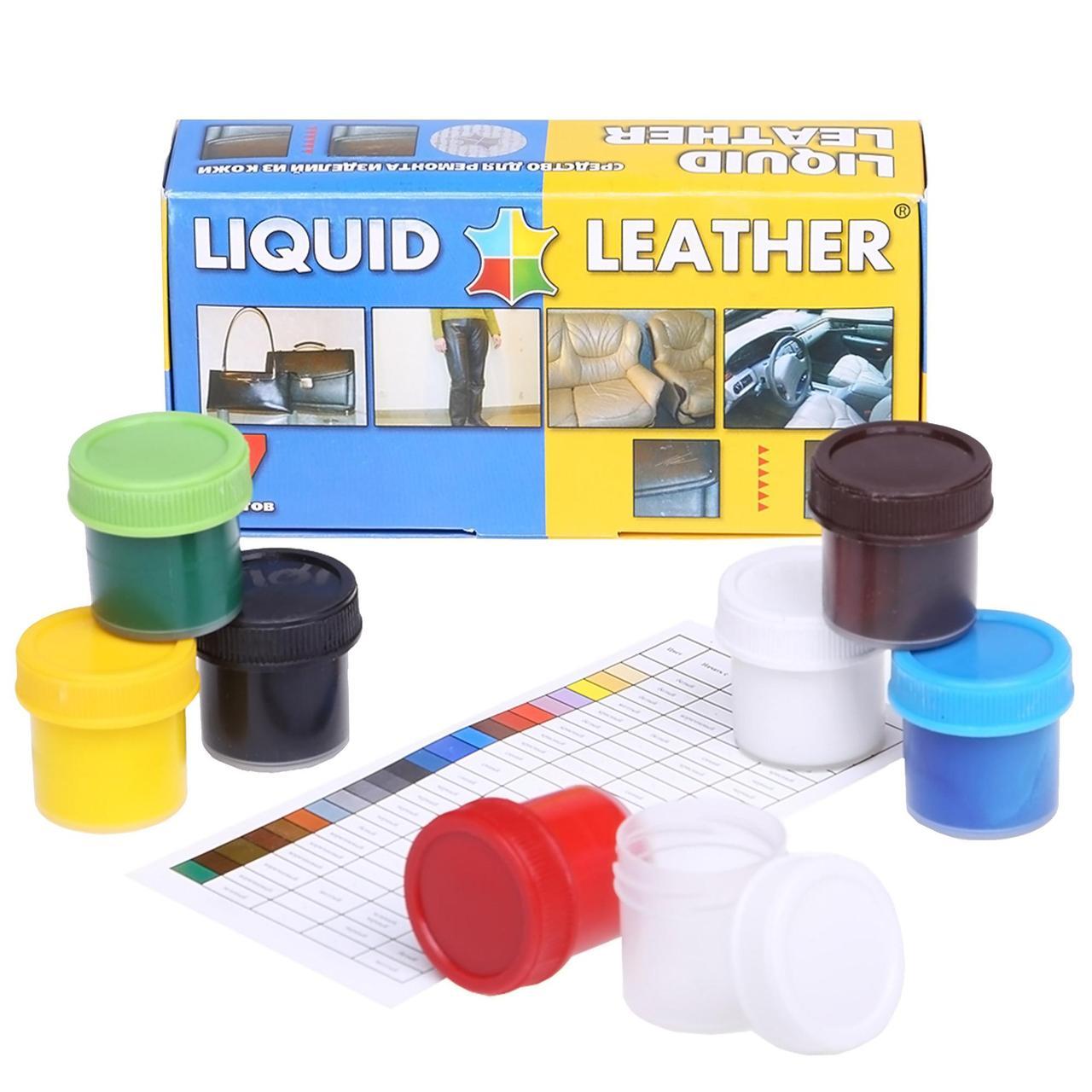 Рідка шкіра Liquid leather для реставрації та ремонту шкіряних виробів