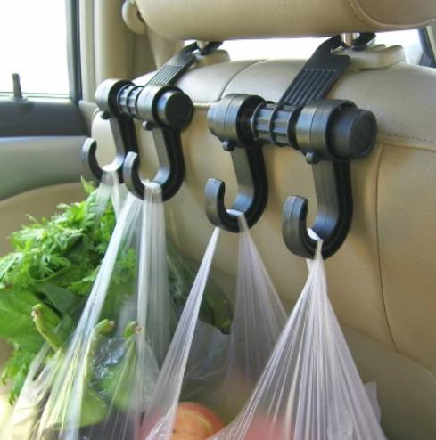 Універсальний автомобільний гачок-вішалка на спинку сидіння до 6 кг TV895