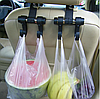 Універсальний автомобільний гачок-вішалка на спинку сидіння до 6 кг TV895, фото 4