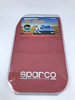 Универсальные брызговики SPARCO комплект 4 штуки / красные