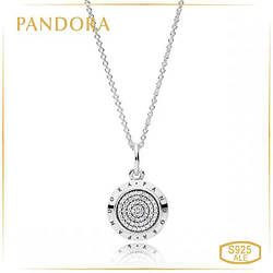 Пандора Подвеска на цепочке с логотипом Pandora 390375CZ-70